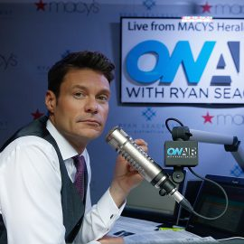 """NEW YORK, NY - SEPTEMBER 08:  Ryan Seacrest  during the """"On-Air With Ryan Seacrest"""" Live Broadcast From Macy's Herald Square at Macy's Herald Square on September 8, 2014 in New York City.  (Photo by John Lamparski/WireImage"""